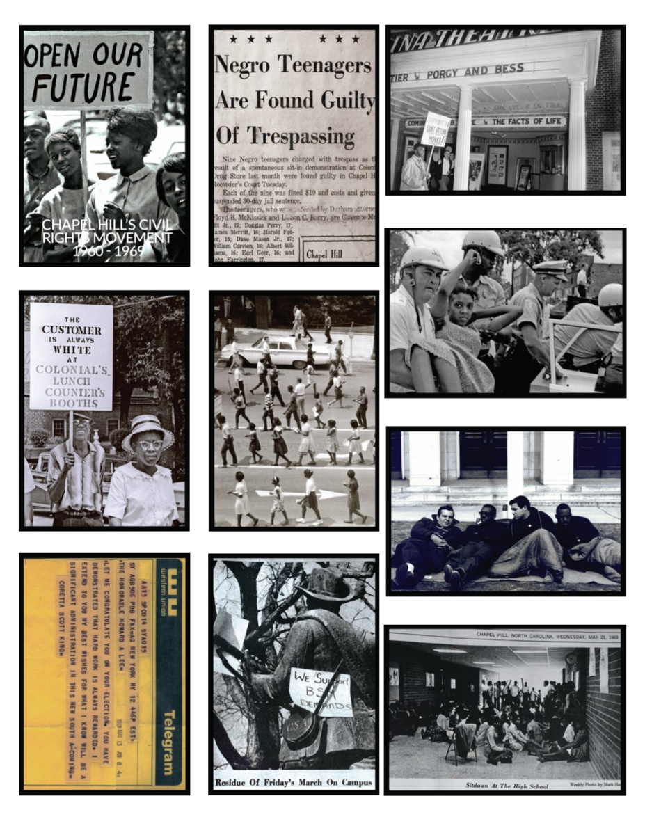 Trading cards | Chapel Hill Civil Rights History